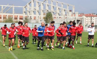 Boluspor'da Balıkesirspor Baltok maçı hazırlıkları