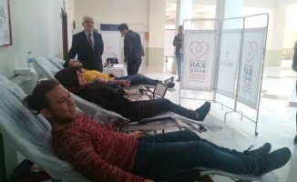Çarşamba Ticaret Borsası MYO'dan kan bağışına destek
