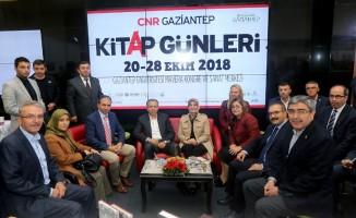 CNR Gaziantep kitap fuarı açıldı