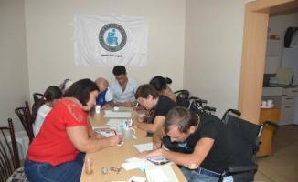 Çorlu'da engellilere yazarlık kursu