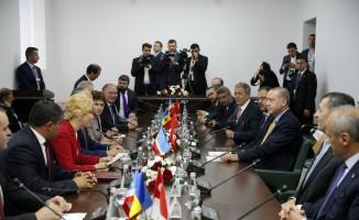 Cumhurbaşkanı Erdoğan, Gagavuzya Başkanı Vlah'la görüştü