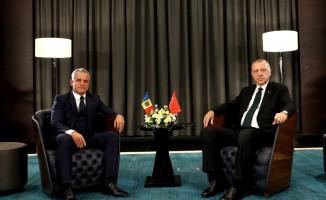Cumhurbaşkanı Erdoğan, Moldova Demokrat Parti Genel Başkanı ile görüştü