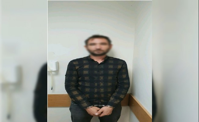 Didim'de bir evden hırsızlık yapan şahıs yakalandı