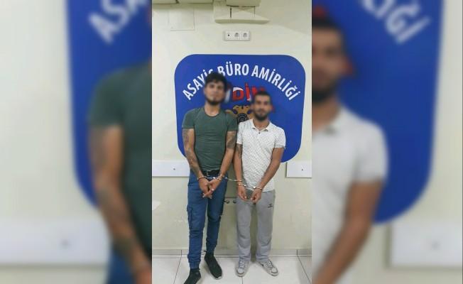 Didim'de gasp olayına karışan iki şahıs yakalandı