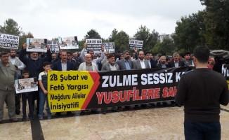 Diyarbakır'da 28 Şubat ve FETÖ yargısı mağdurları adalet talep etti