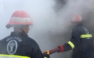 Domaniç'te korkutan yangın