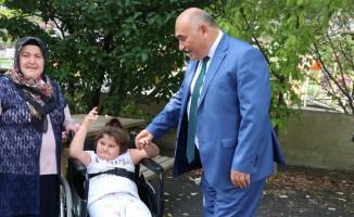 Engellilerden Erol Şahin'e tam destek