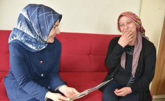 Fatma Çolakbayrakdar ziyaretlerine devam ediyor