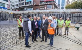 Fatsa Meydan Projesi devam ediyor