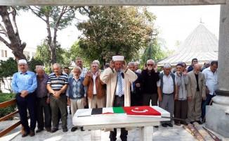 Filistin şehitleri için gıyabi cenaze namazı kılındı