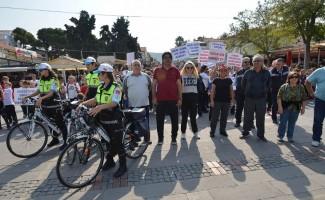 Foça'da sağlıklı yaşam için hareket yürüyüşü
