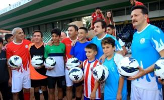 'Futbolun Efsaneleri' Muğla'da