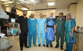 GAÜN Hastanesi'nde Ortadoğulu hekimlere Workshop