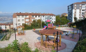 Gülüç'te her mahalleye dinlenme bahçesi ve çocuk parkı