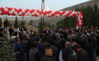 Gürün'de Şuğul Kanyonu ve doğal gaz hizmete girdi