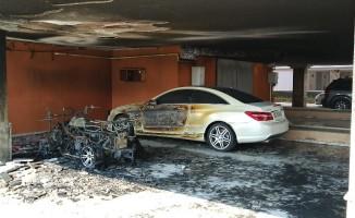 Hastane, yangından kıl payı kurtuldu