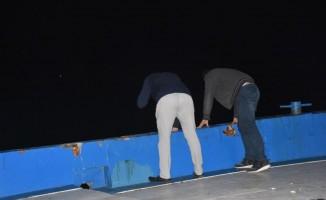 İzmir'de otomobil denize düştü: 1 yaralı