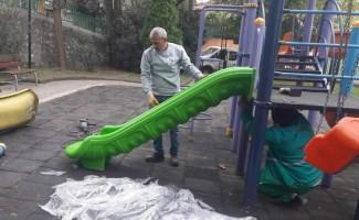 İzmit'te parklar düzenleniyor