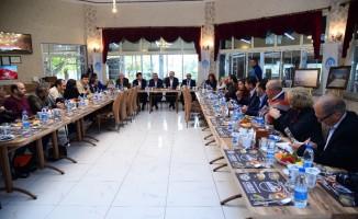 """Kahramankazan Kent Konseyi Başkanı Oğuz: """"Ertürk'ü Büyükşehir adayı olarak görmekten onur duyarız"""""""