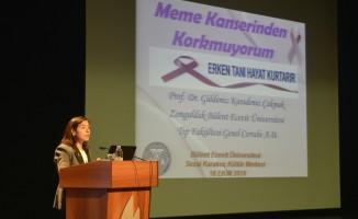 """Karadeniz'den, """"Meme Kanserinden Korkmuyorum"""" semineri"""