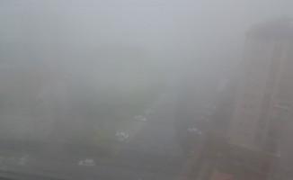 Kayseri'de sis etkili oldu