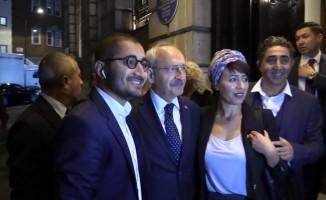 Kemal Kılıçdaroğlu Londra'da