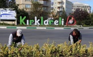 Kırklareli'de çevre düzenleme çalışmaları
