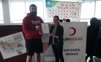 Kızılay'dan Düzce Üniversitesi öğrencilerine teşekkür
