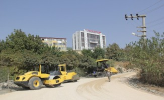 Kulp'ta hazır asfalt çalışmalarına başlandı