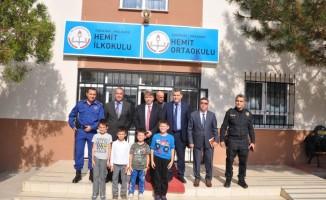 Malkara Kaymakamı Erkan Karahan, öğrencilerle buluştu