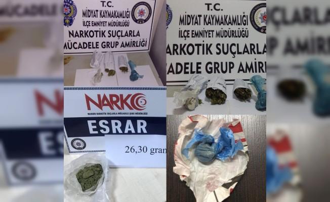 Mardin'de uyuşturucu operasyonları: 10 gözaltı