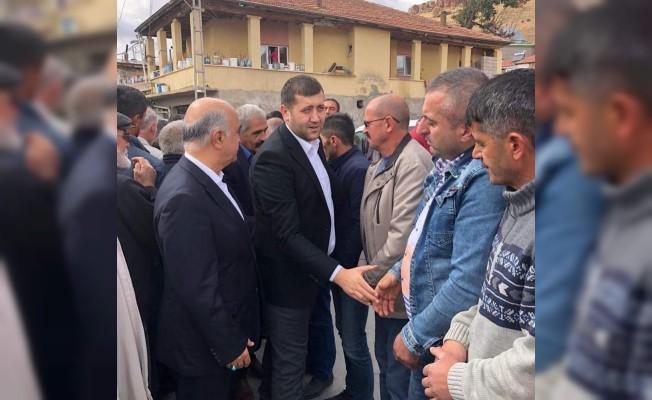 MHP Milletvekili Ersoy, Zekai Gedikbaş'ın cenazesine katıldı