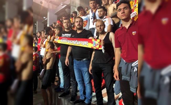 Milletvekili Baki Ersoy'dan Kayserispor'a destek