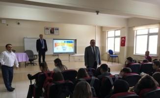 Öğrencilere, gıda güvenliği ve hijyenin önemi anlatıldı