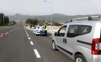 Osmaneli'nde trafik uygulaması