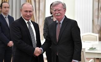 """Putin'den Bolton'a: """"ABD armasındaki zeytinleri kartal mı yedi?"""""""