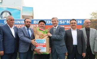 Şahinbey Belediyesi buğday ve arpa tohumu dağıtımını sürdürüyor