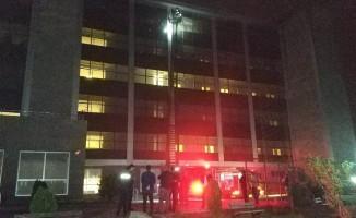 Samsun'da hastanede yangın çıktı: 7 kişi dumandan zehirlendi