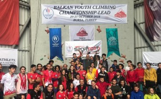 Spor Tırmanış Balkan Şampiyonası sona erdi