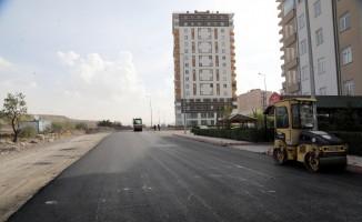 Talas'ta viyadük yolu hazırlığı