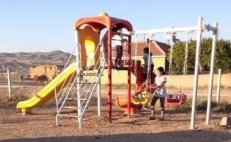 Tatbekirli köyüne Tanap desteği ile çocuk parkı