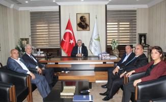 TD-IHK Genel Sekreteri Özoğlu, Gaziantep Ticaret Borsasını ziyaret etti