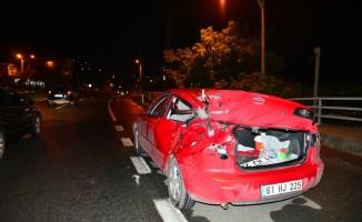 Trabzon'da zincirleme trafik kazası: 1 ölü, 9 yaralı