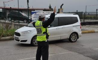 Trafik polisleri denetimleri arttırdı