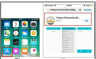 """Trakya Üniversitesi 'Öğrenci İşleri Daire Başkanlığı Mobil Uygulaması"""" kullanıma açıldı"""