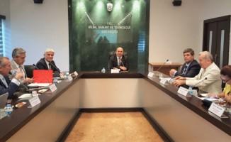 Trakya Üniversitesi Rektör Yardımcısı Prof. Dr. Cem Uzun Ankara'da görevine başladı