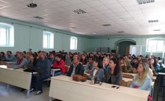 Trakya Üniversitesi Şehit Ressam Hasan Rıza Güzel Sanatlar Meslek Yüksekokulu, yeni öğrencilerini ağırladı