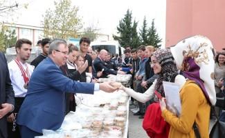 Trakya Üniversitesi'nde Aşure coşkusu