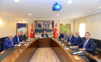 TRAKYAKA Ekim ayı yönetim kurulu toplantısı Edirne'de yapıldı