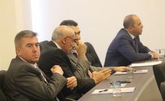 Valilik, kamu ve özel sektör temsilcilerini buluşturdu